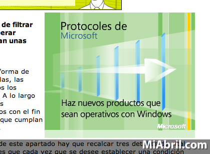 Protocoles de Microsoft