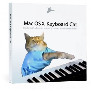 Mac OS X Keyboard Cat